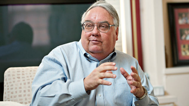 PHOTO: Howard Buffett, president of the Howard G. Buffett Foundation
