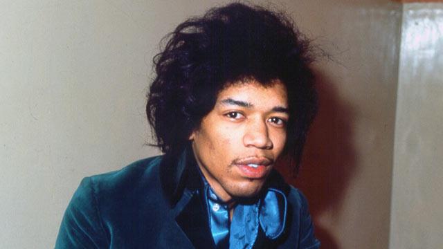 PHOTO: Jimi Hendrix is seen circa 1970.