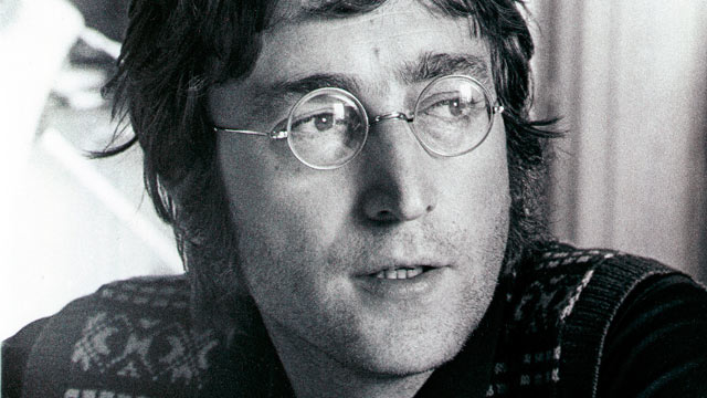 PHOTO: John Lennon is pictured during the making of the film 'Imagine.'