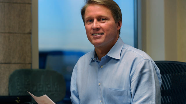 PHOTO: Davita CEO Kent Thiry spoke to the Denver Post on February 10, 2011.