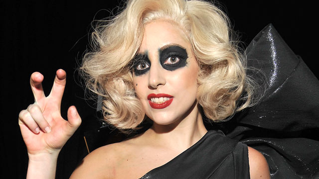 PHOTO: Lady Gaga attends The Grammy Nominations Concert Live! held at the Nokia Theatre, Nov. 30, 2011 in Los Angeles, Calif.