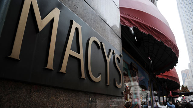 PHOTO: People walk in front of Macys Holiday Shopping Windows outside Macys Herald Square, Dec. 1, 2012 in New York.
