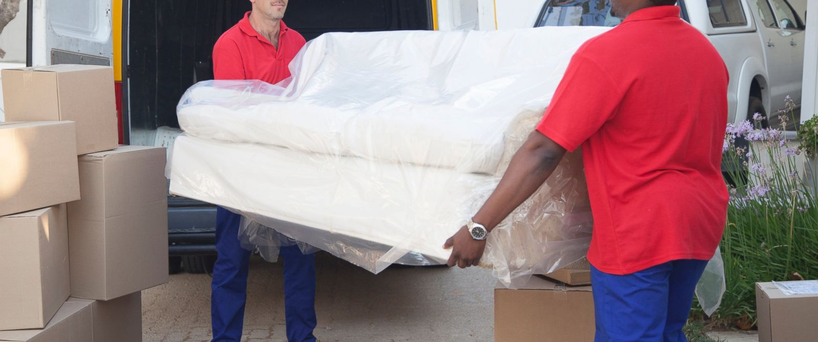 Paying for the furniture delivery man s mistake abc news for Affordable furniture delivery