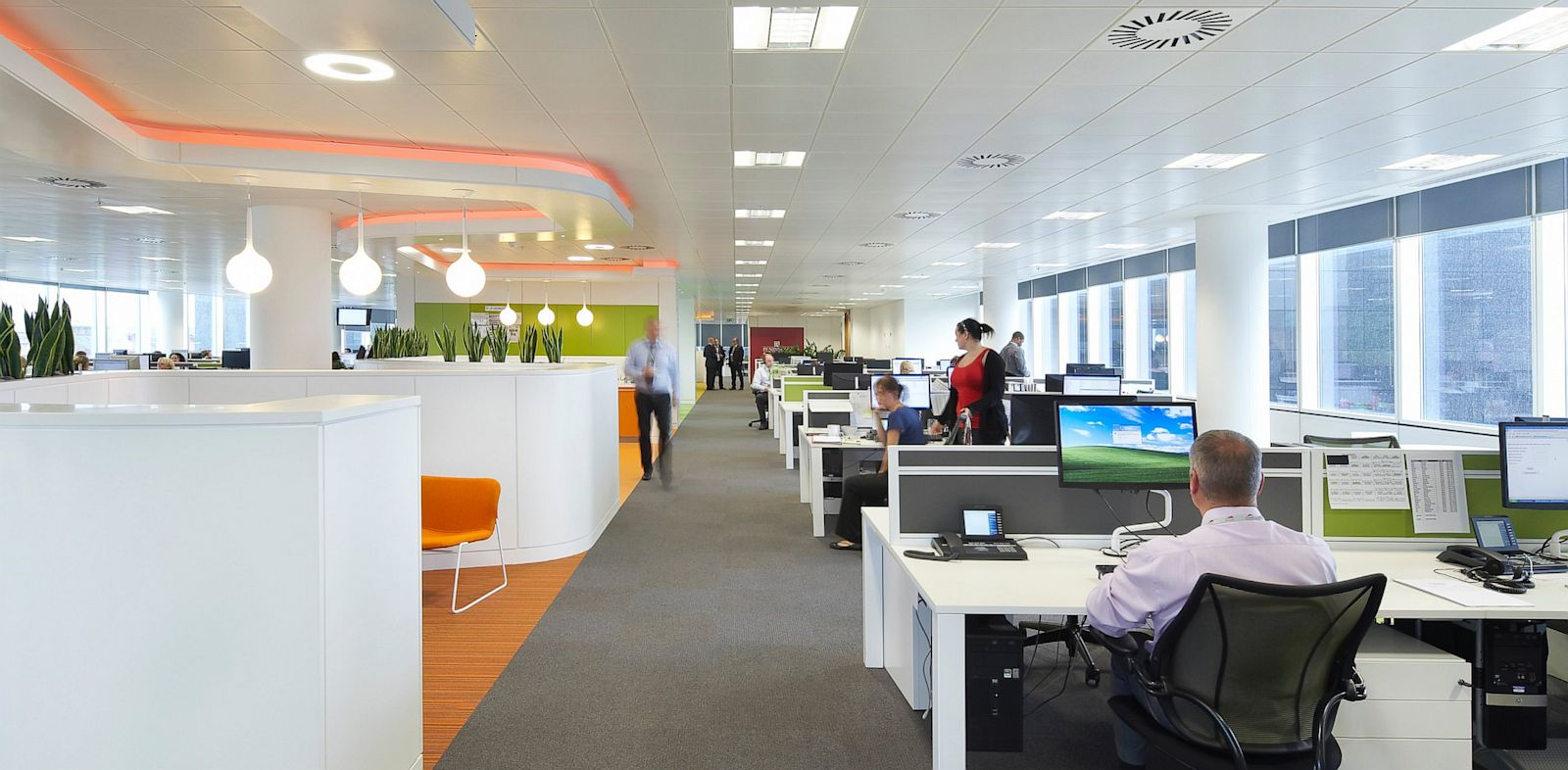 Facebook open plan office to be rich in distractions abc for Office space planning