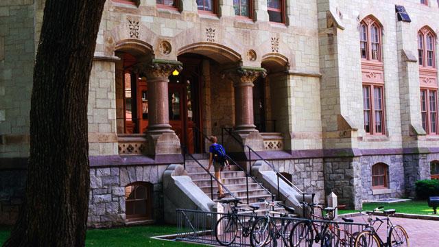 PHOTO: Logan Hall, University of Pennsylvania.