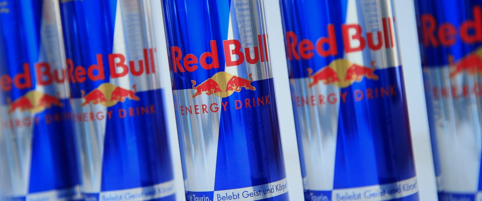 PHOTO: Cans of Red Bull are pictured in Vienna on March 16, 2013.