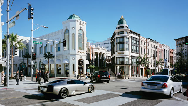 PHOTO: Rodeo Drive in Los Angeles, Calif. is seen in this undated stock photo.