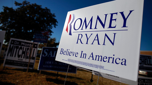 PHOTO: Romney-Ryan campaign sign