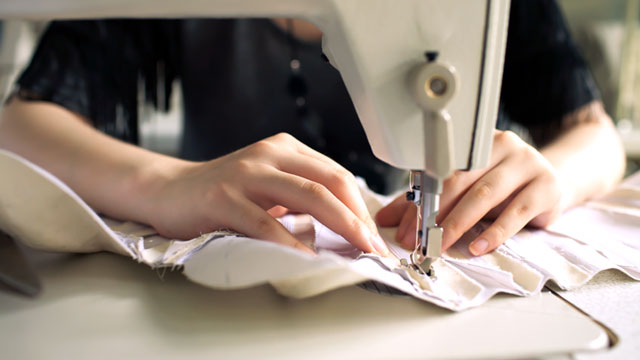 PHOTO: Seamstress/Tailor came in second in the list of least stressful jobs for 2013.