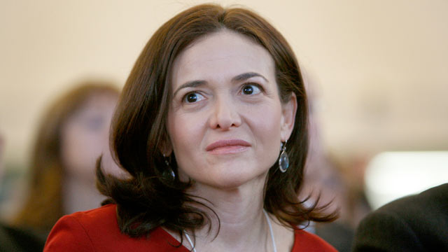PHOTO: Sheryl Sandberg, chief operating officer of Facebook Inc., sits in the audience ahead of German Chancellor Angela Merkels opening address on day one of the World Economic Forum (WEF) in Davos, Switzerland, Jan. 25, 2012.