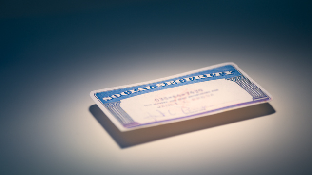 PHOTO: Social Security card
