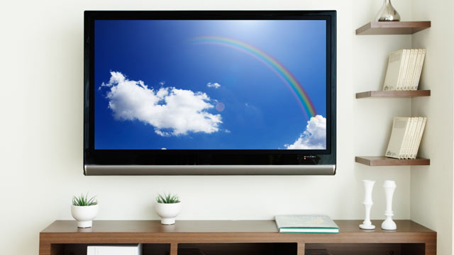 PHOTO: LCD TV in a room in an undated file photo.