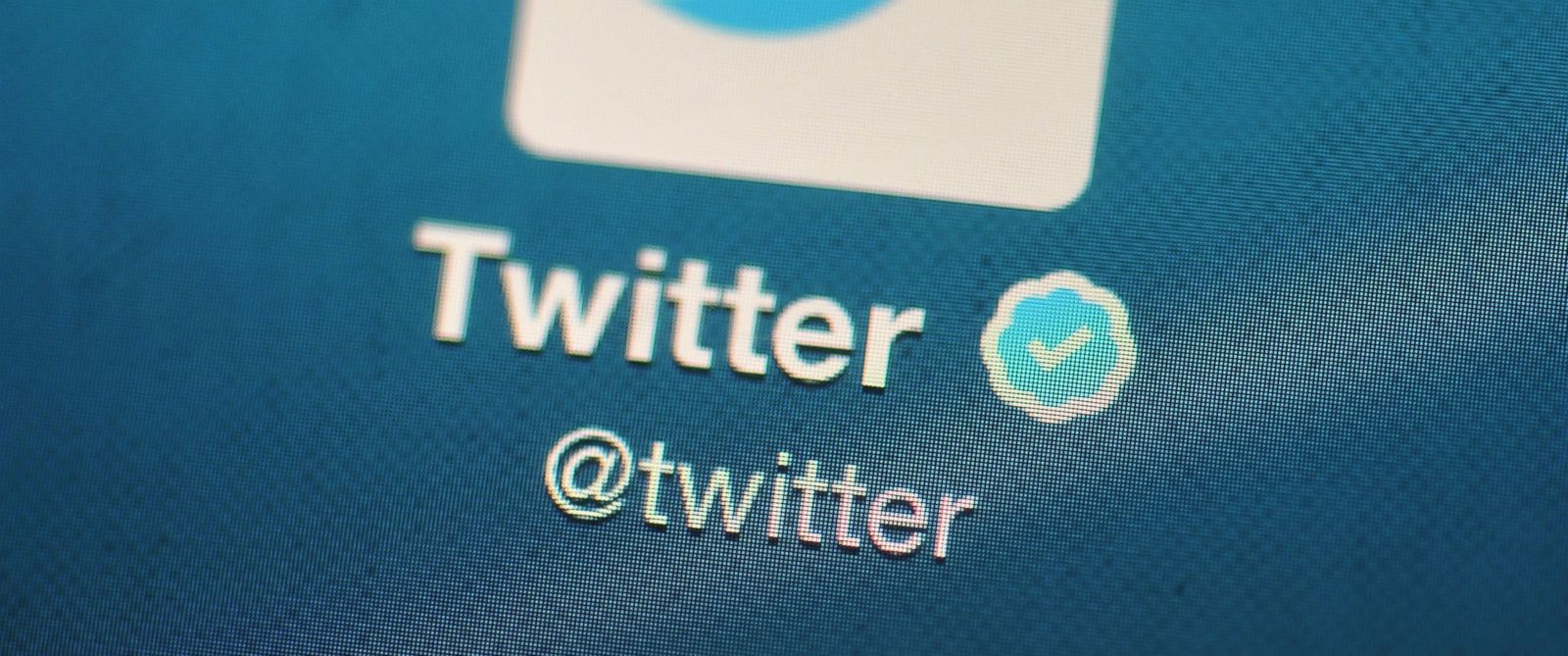 PHOTO: In this photo illustration, The Twitter logo is displayed on a mobile device.