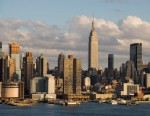 PHOTO: The New York City skyline is seen in this undated stock photo.