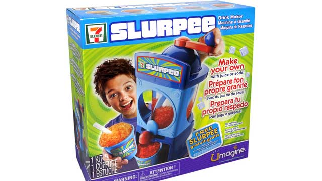 PHOTO: Campaign for a Commercial-Free Childhood released its selection of the toys that it believes embody the worst the marketplace has to offer, featuring The 7-Eleven Slurpee Machine.