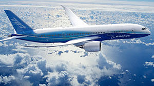 Photo: Boeing halted 787 production at its Italian subcontractor