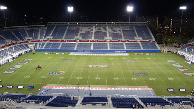 PHOTO: This undated photo from Wikimedia Commons shows the Florida Atlantic University stadium.