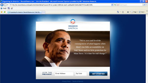 Search of ?Goldman Sachs SEC? brings users to barackobama.com Web site