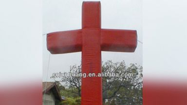 "PHOTO: ""Giant inflatable cross for Easter decoration"" for sale on Alibaba.com"