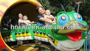 PHOTO: Giant worm amusement park ride for sale on Alibaba.com