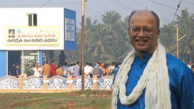 PHOTO: Ashok Gadgil is seen at a WaterHealth Center in Andhra Pradesh, India in this 2007 photo.