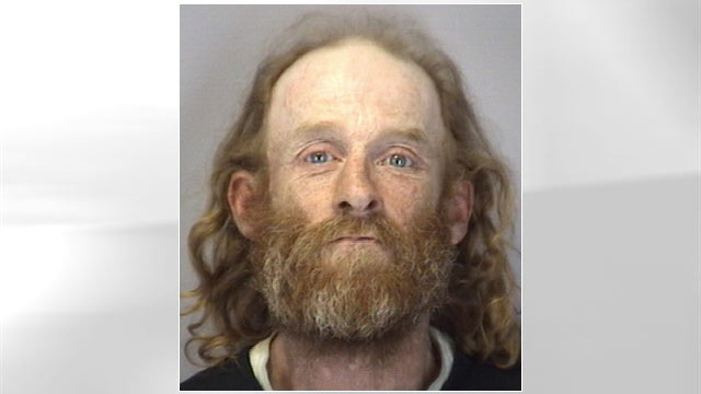 PHOTO:Police arrested a man they caught siphoning gas from a pickup truck