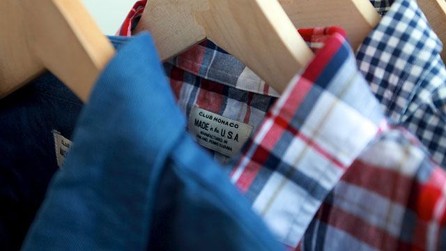 PHOTO: Club Monaco starts Made in the U.S.A. collection
