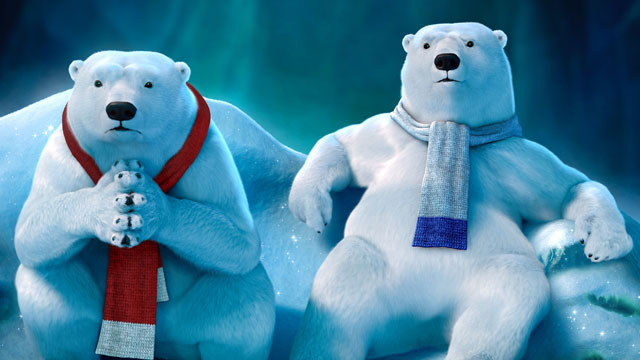 """PHOTO: In a first for Coca-Cola, the polar bears will be """"taking over"""" the official @CocaCola Twitter account on Feb. 5."""