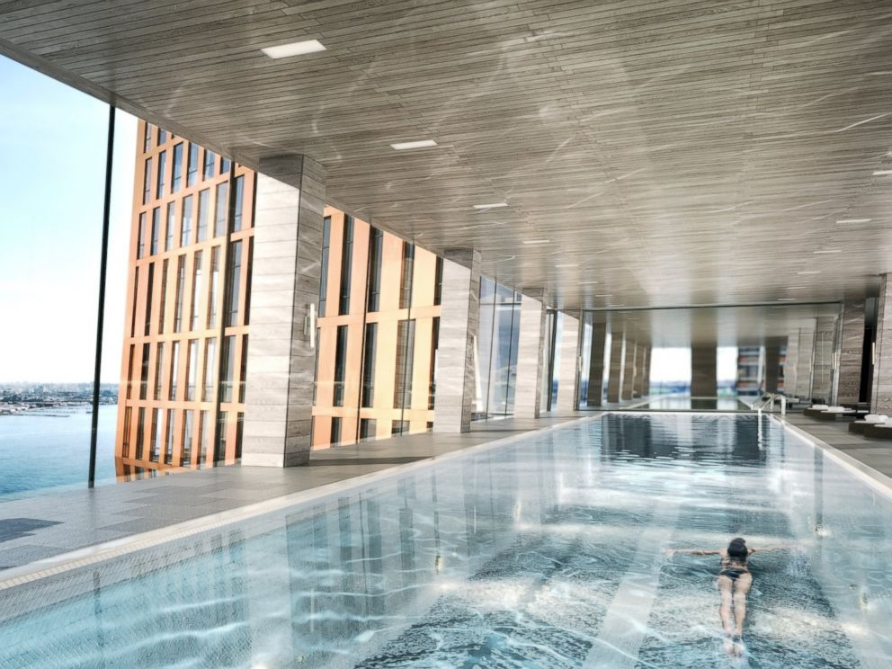 New York City Building With 39 Pool In The Sky 39 To Open This Year Abc News