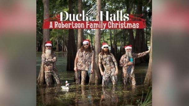 "PHOTO: The Duck Dynasty cast released a ""Duck the Halls"" Christmas Carol CD, which is available on Amazon."