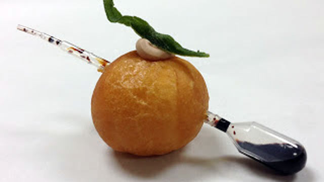 PHOTO: A foie gras-filled doughnut hole is to be offered free of charge to the public by two locations of Psycho Donuts, located in San Francisco, for National Doughnut Day on June 7th.
