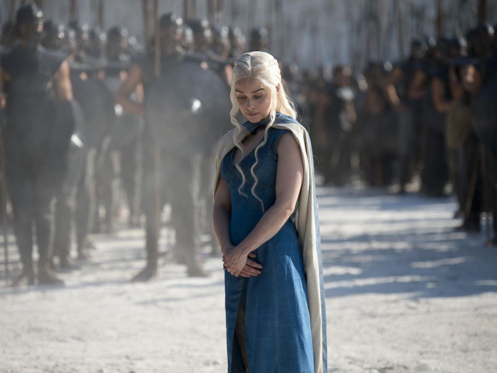 PHOTO: Emilia Clarke as Daenerys Targaryen in the fourth season of the HBO show, Game of Thrones.