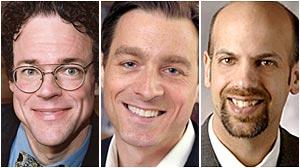 PHOTO: (L-R)Robert Hockett, Jacob S. Hacker, Daniel Markovits