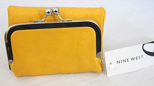 PHOTO: A Nine West brand wallet from the Nine West Outlet was found with more than 70 times more lead than the limit permitted by the legal agreement with Center for Environmental Health.