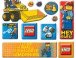 "PHOTO: Parents have complained about stickers from LEGO featuring a construction worker saying ""Hey Babe!"""