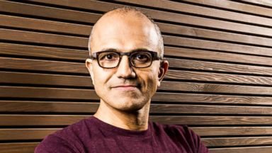 PHOTO: Microsoft named Satya Nadella as its new CEO.