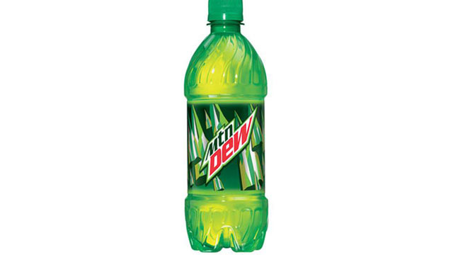 PHOTO: Mountain Dew contains bvo.