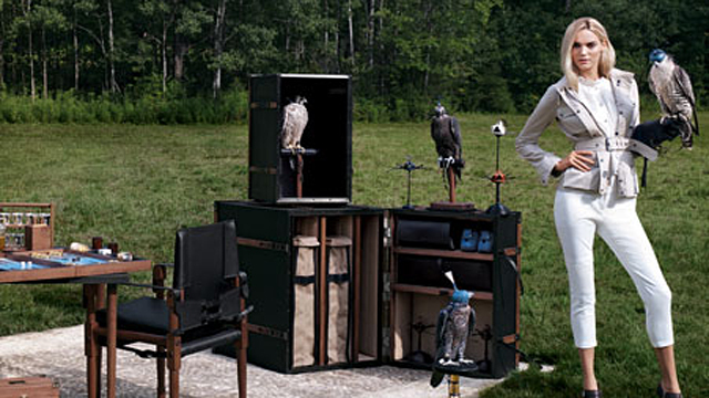 PHOTO:Bespoke Global Falconry Companion $150,000