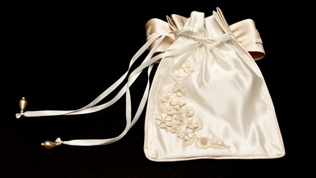 PHOTO: Gently used wedding dresses can be transformed into sachets.