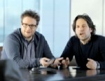 PHOTO: Seth Rogan stars in the Samsung Superbowl commercial.