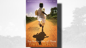 Oprah Winfrey chooses ?Say You?re One of Them? by Uwem Akpan for her latest book club pick