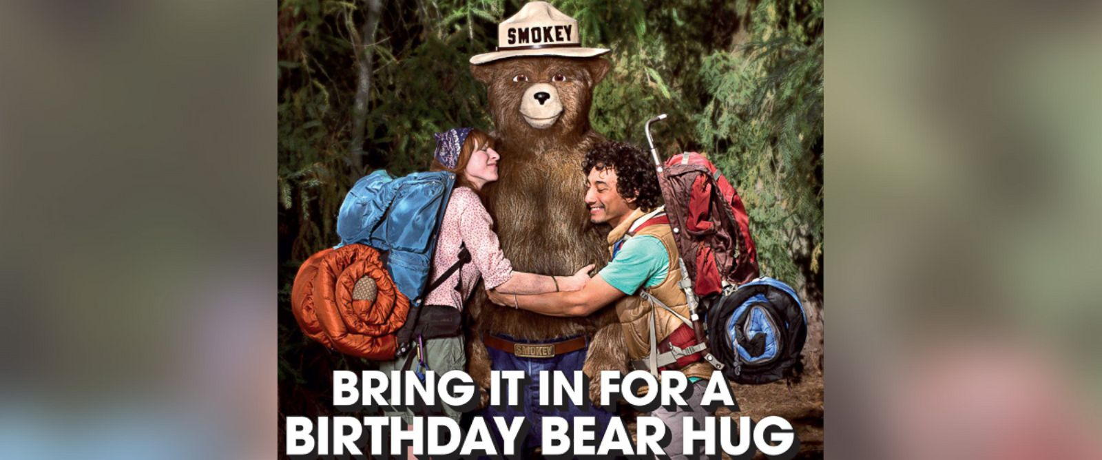 PHOTO: Smokey Bear turns 70.