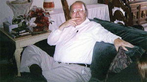 PHOTO Elizabeth Dianne McLeod says that harassing phone calls by a mortgage servicing company to her husband, Stanley McLeod, pictured here in the 1990s, exacerbated a heart condition that led to his death.