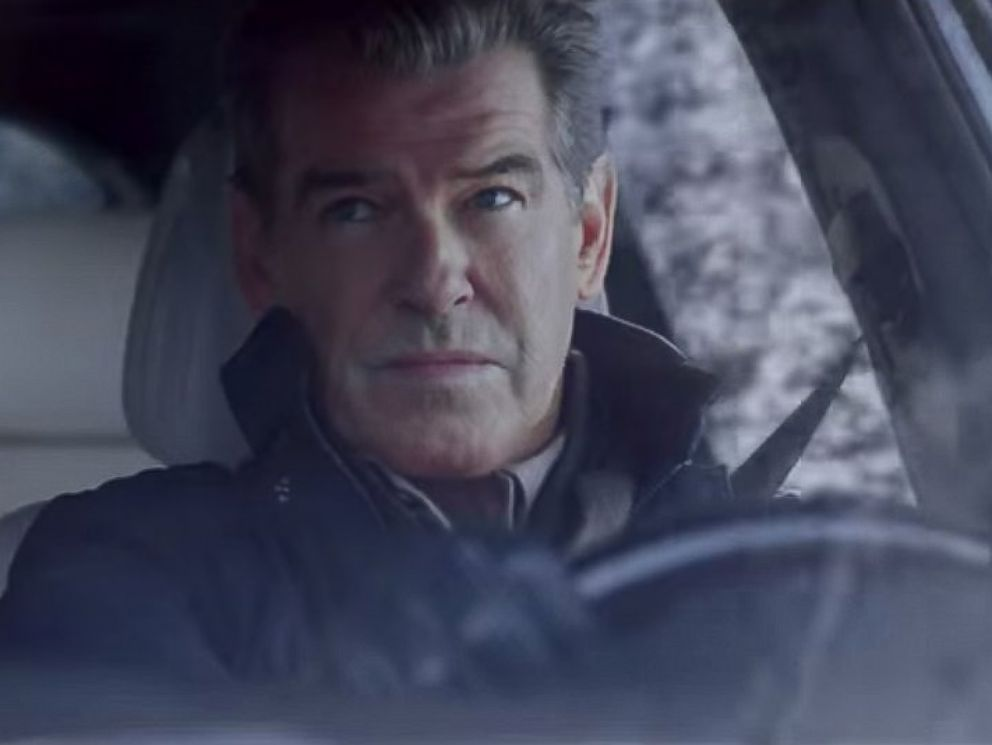 PHOTO: Pierce Brosnan appears in an ad for Kia for the 2015 Super Bowl.