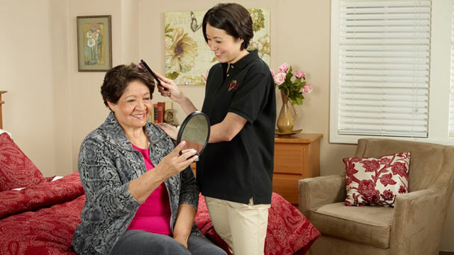 PHOTO: Synergy HomeCare offers customized in-home care for seniors and those limited by Alzheimers or dementia.