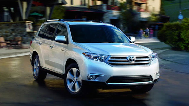 PHOTO: 2012 Toyota Highlander