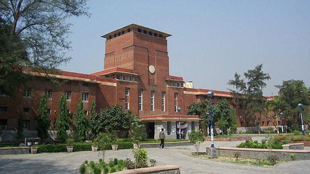 PHOTO: The University of Dehli main building.