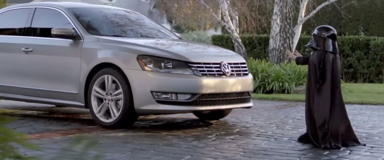 """PHOTO: Volkswagens """"The Force"""" Super Bowl commercial aired in 2011."""