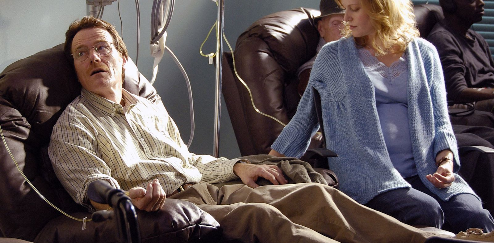 PHOTO: Bryan Cranston and Anna Gunn in Breaking Bad