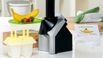 PHOTO:Yonanas frozen yogurt maker is pictured in this undated file photo.
